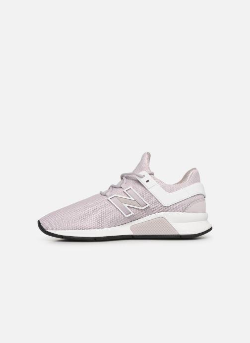 Sneakers New Balance WS247 B Roze voorkant