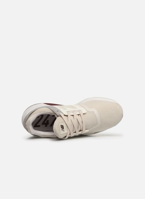 Trainers New Balance WS247 B Beige view from the left