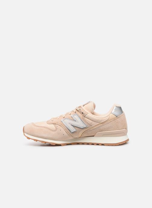Sneakers New Balance WL996 D Beige voorkant