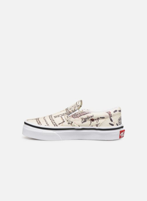 Sneakers Vans Classic Slip-On Harry Potter Bianco immagine frontale
