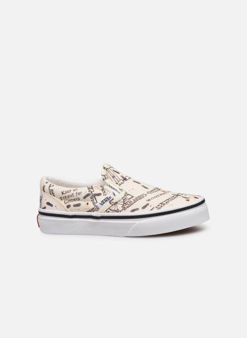Sneakers Vans Classic Slip-On Harry Potter Hvid se bagfra