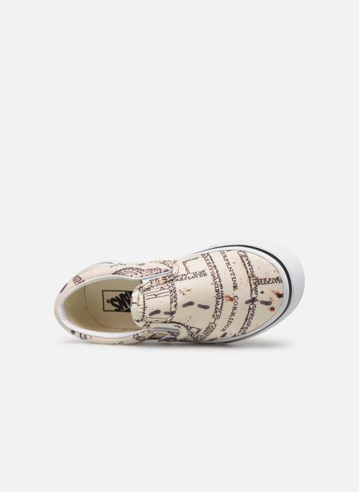 Sneakers Vans Classic Slip-On Harry Potter Hvid se fra venstre