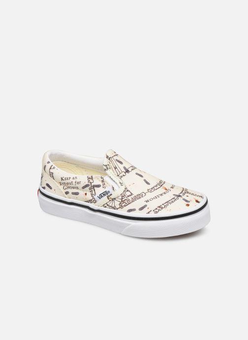 Sneakers Vans Classic Slip-On Harry Potter Hvid detaljeret billede af skoene