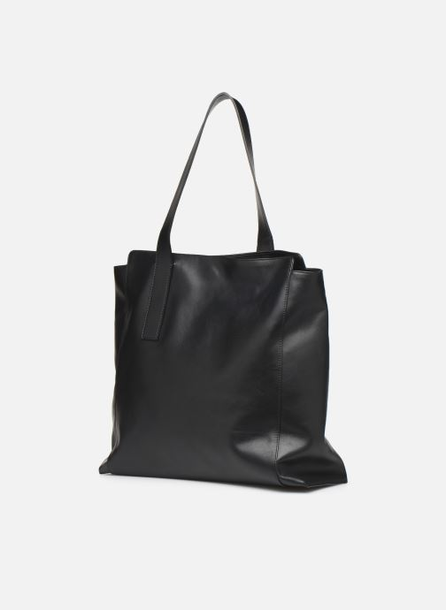 Handbags Louvreuse MONA Black view from the right