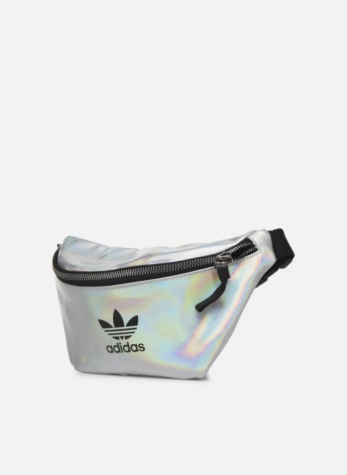 Pelletteria adidas originals WAISTBAG Argento modello indossato