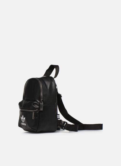 Sacs à dos adidas originals BP MINI PU Noir vue portées chaussures
