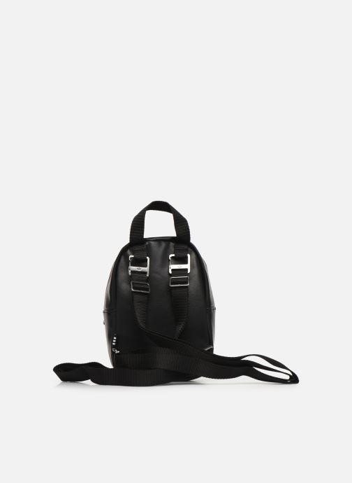 Rucksäcke adidas originals BP MINI PU schwarz ansicht von vorne