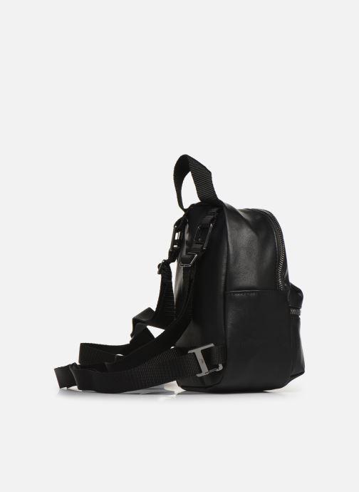 Rucksäcke adidas originals BP MINI PU schwarz ansicht von rechts