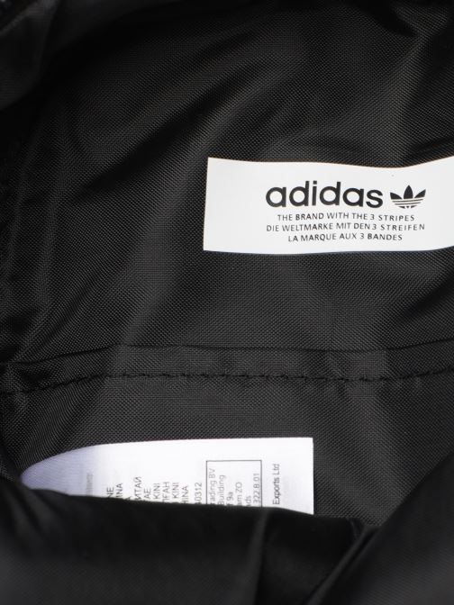Rucksäcke adidas originals BP MINI PU schwarz ansicht von hinten