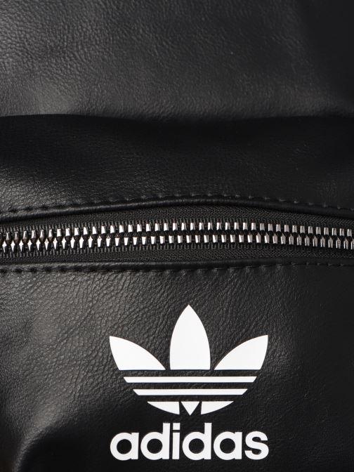 Rucksäcke adidas originals BP MINI PU schwarz ansicht von links