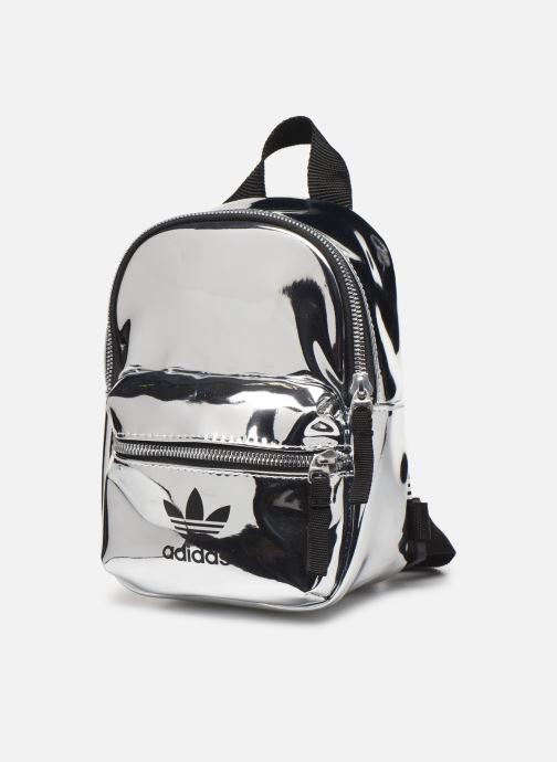 Rucksäcke adidas originals BP MINI PU weiß schuhe getragen