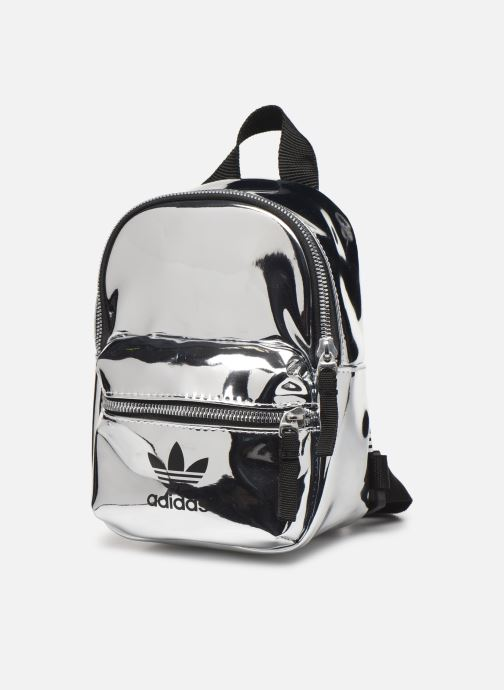 Rugzakken adidas originals BP MINI PU Wit model