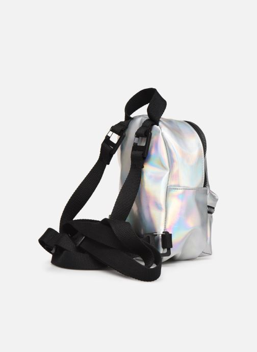 Rucksacks adidas originals BP MINI PU Silver view from the right