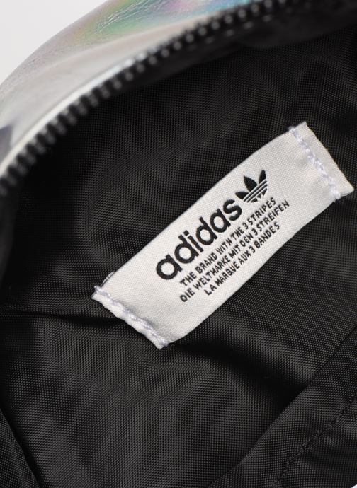 Rucksacks adidas originals BP MINI PU Silver back view