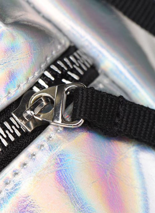 Rucksäcke adidas originals BP MINI PU silber ansicht von links