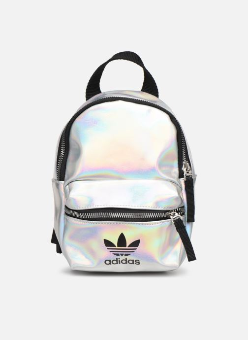 Rucksacks adidas originals BP MINI PU Silver detailed view/ Pair view