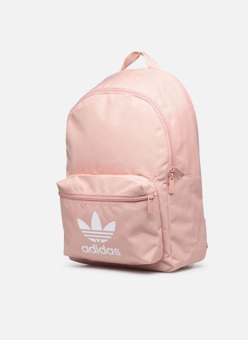 Rucksäcke adidas originals AC CLASS BP rosa schuhe getragen