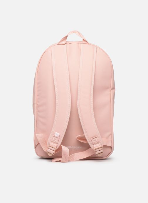 Mochilas adidas originals AC CLASS BP Rosa vista de frente