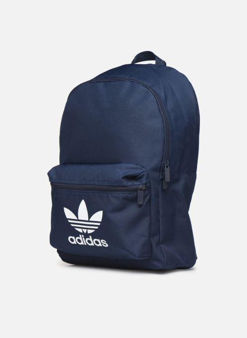 Rucksäcke adidas originals AC CLASS BP blau schuhe getragen