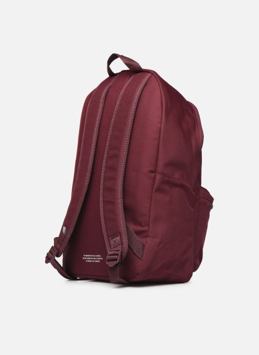 Rucksacks adidas originals AC CLASS BP Burgundy view from the right