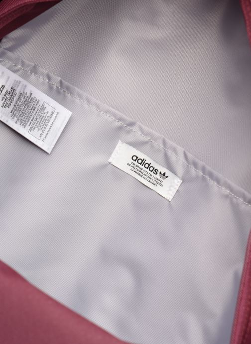 Rucksäcke adidas originals AC CLASS BP weinrot ansicht von hinten