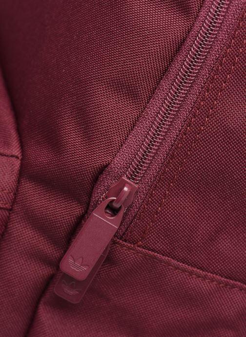 Rucksäcke adidas originals AC CLASS BP weinrot ansicht von links