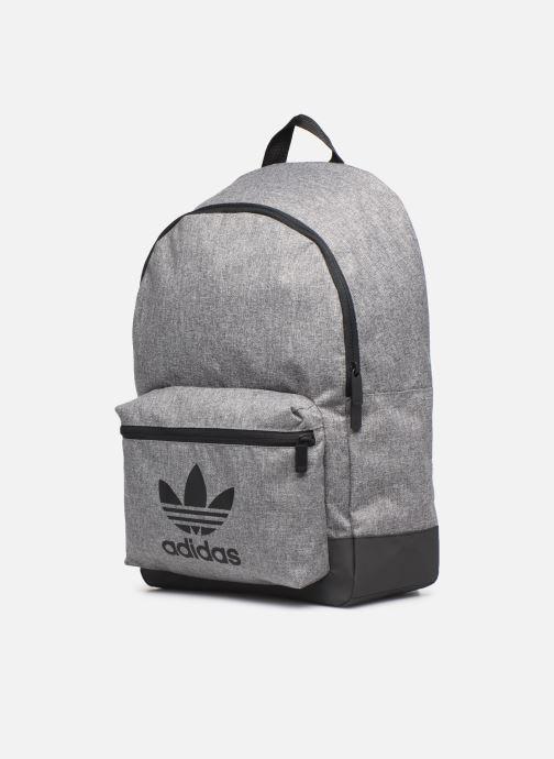 Rucksäcke adidas originals MEL CLASSIC BP grau schuhe getragen