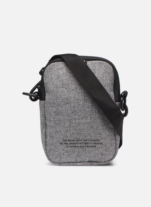 Sacs homme adidas originals MEL FEST BAG Gris vue face