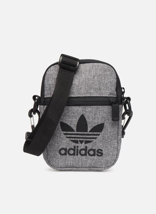Herentassen adidas originals MEL FEST BAG Grijs detail