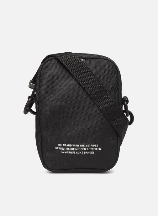Herrentaschen adidas originals FEST BAG TREF schwarz ansicht von vorne