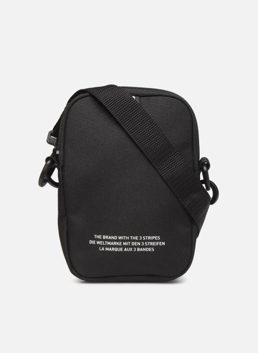 Bolsos de hombre adidas originals FEST BAG TREF Negro vista de frente