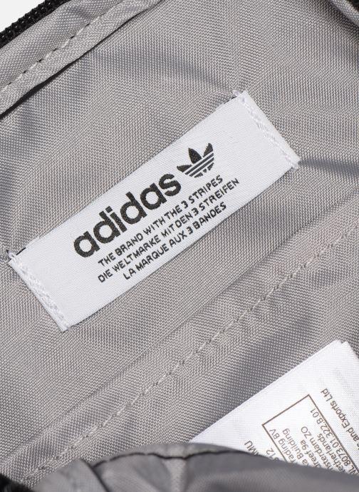 Bolsos de hombre adidas originals FEST BAG TREF Negro vistra trasera