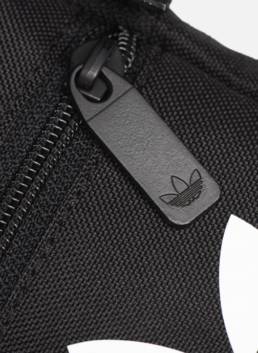 Bolsos de hombre adidas originals FEST BAG TREF Negro vista lateral izquierda
