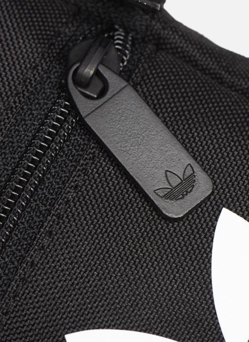 Herrentaschen adidas originals FEST BAG TREF schwarz ansicht von links