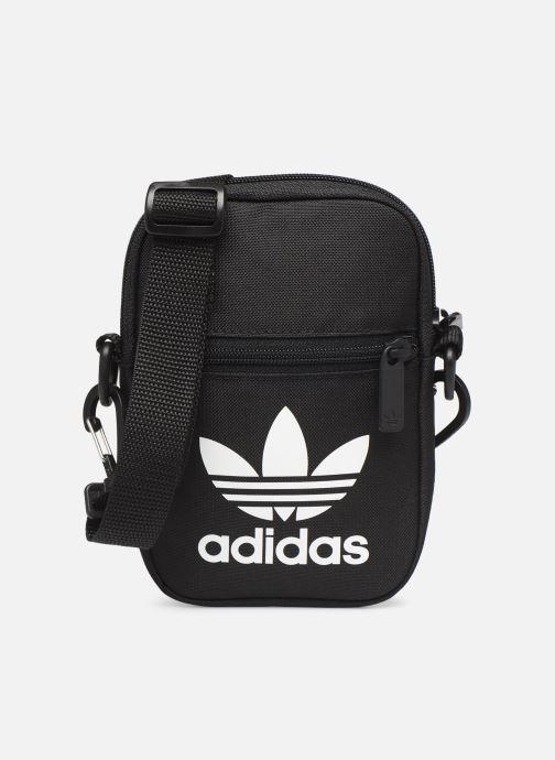 Sacs homme adidas originals FEST BAG TREF Noir vue détail/paire