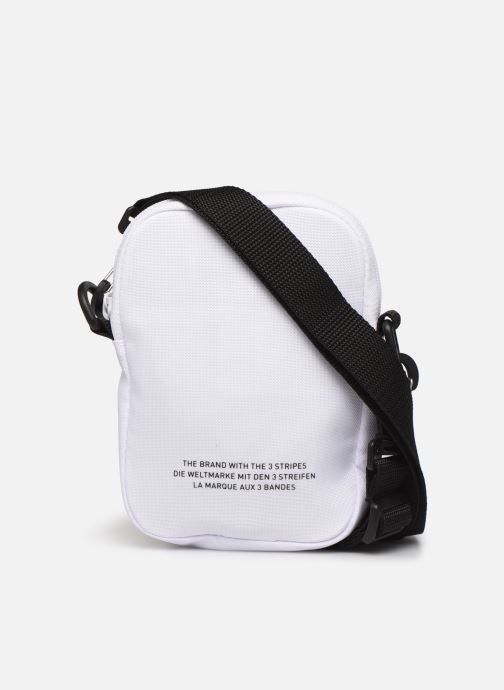 Sacs homme adidas originals FEST BAG TREF Blanc vue face