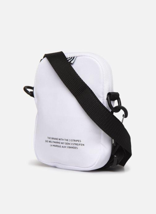 Sacs homme adidas originals FEST BAG TREF Blanc vue droite