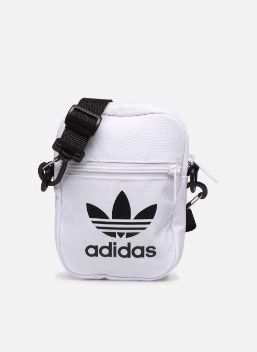 Sacs homme adidas originals FEST BAG TREF Blanc vue détail/paire