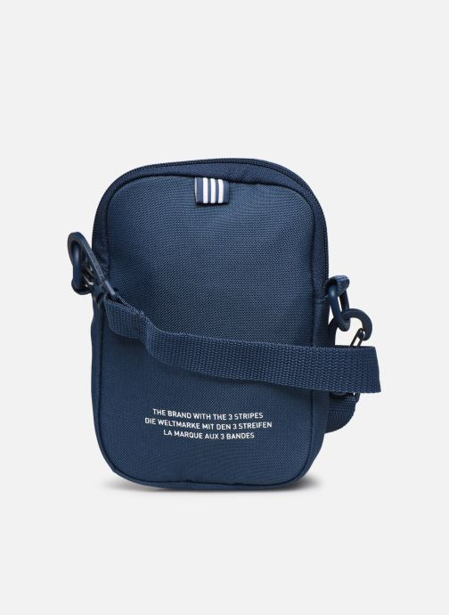 Herentassen adidas originals FEST BAG TREF Blauw voorkant
