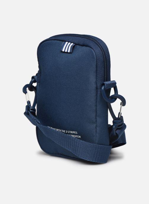 Sacs homme adidas originals FEST BAG TREF Bleu vue droite