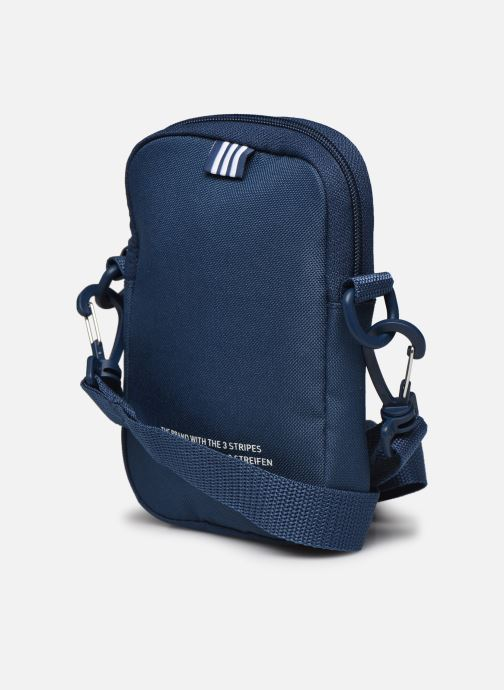 Herentassen adidas originals FEST BAG TREF Blauw rechts