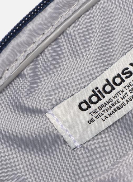 Herentassen adidas originals FEST BAG TREF Blauw achterkant