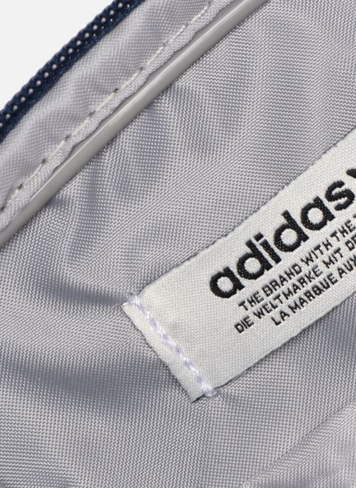 Herentassen adidas originals FEST BAG TREF Blauw achterkant