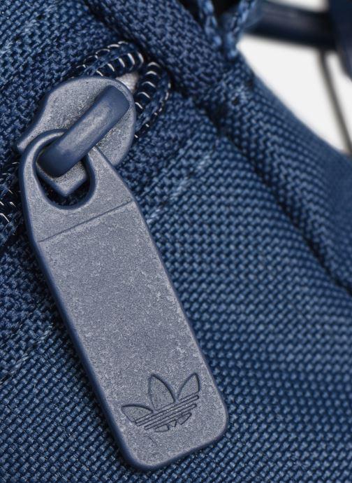 Sacs homme adidas originals FEST BAG TREF Bleu vue gauche