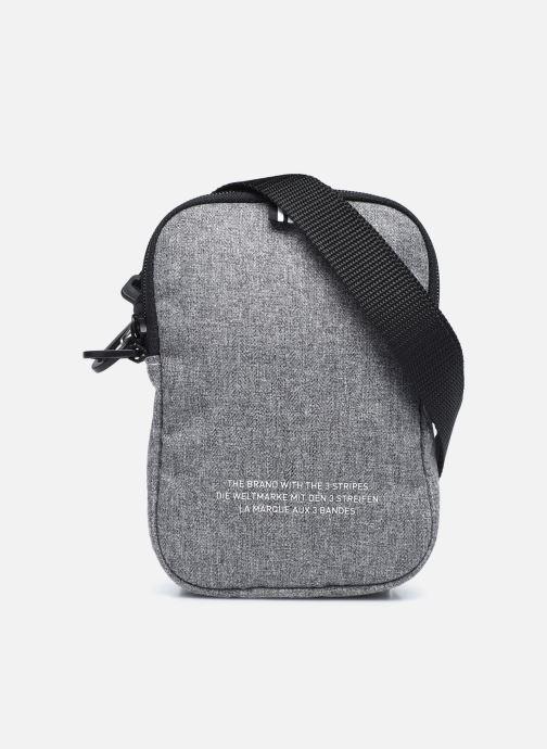 Herrentaschen adidas originals FEST BAG TREF grau ansicht von vorne