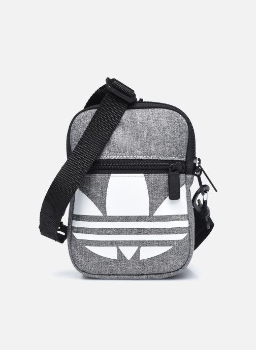 Sacs homme adidas originals FEST BAG TREF Gris vue détail/paire