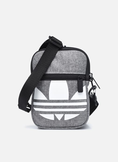 Bolsos de hombre adidas originals FEST BAG TREF Gris vista de detalle / par