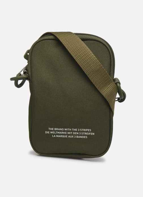 Sacs homme adidas originals FEST BAG TREF Vert vue face