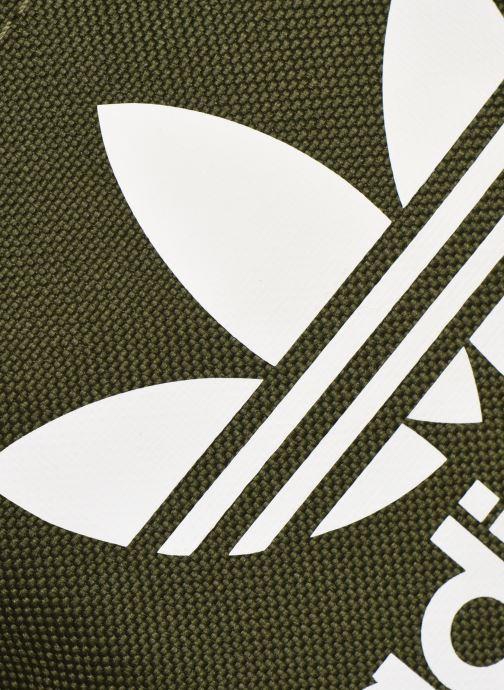 Herrentaschen adidas originals FEST BAG TREF grün ansicht von links