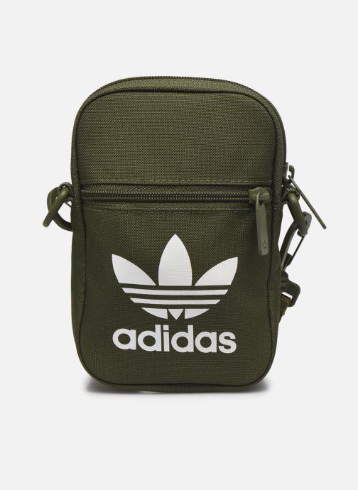 Bolsos de hombre adidas originals FEST BAG TREF Verde vista de detalle / par